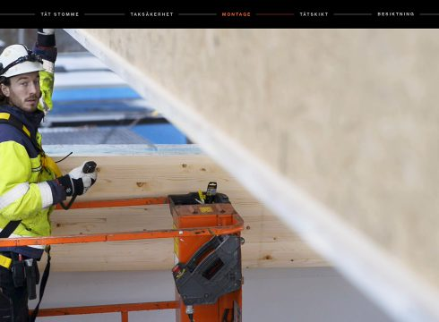 Ny instruktionsfilm hjälper dig vid montaget av våra tak